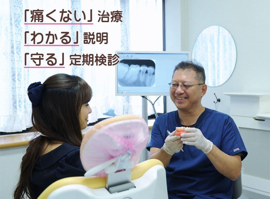 いわきり歯科の治療ポリシー